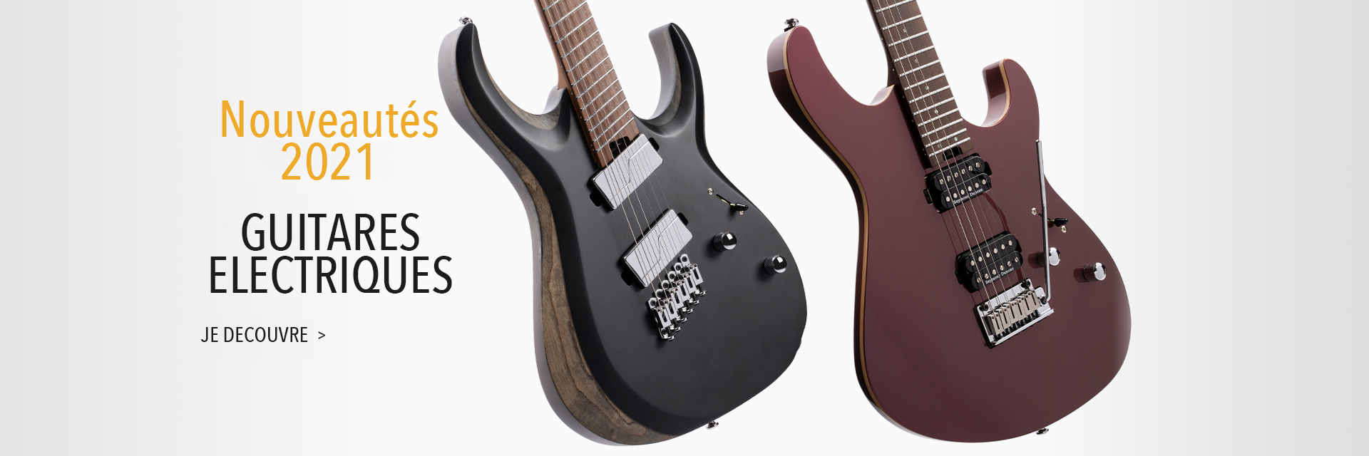 New for 2021 | Electric Guitars