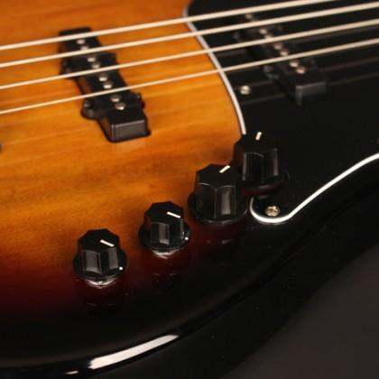 Cort Bass GB34 JJ Black Guitar