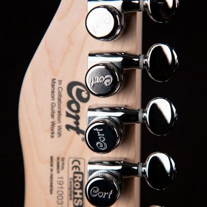 Manson Meta Series MBM-1 Matthew Bellamy Signature Guitar in Satin Black